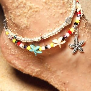 Jewelry - Super Cute Anklet or Bracelet Starfish Design